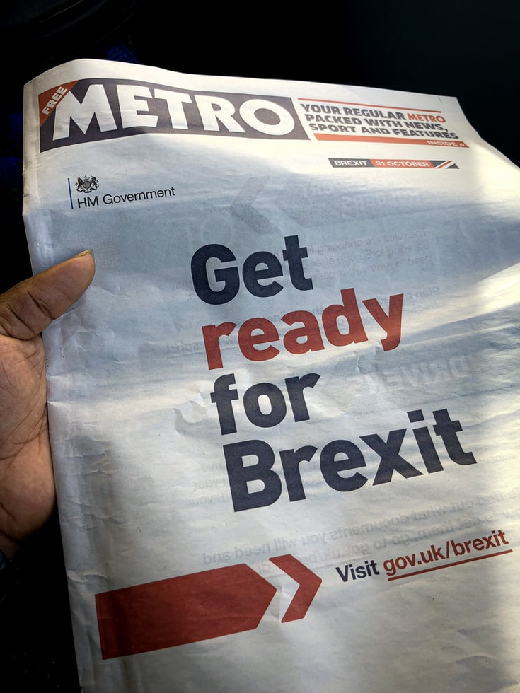 Brexit is so last yeardarling…